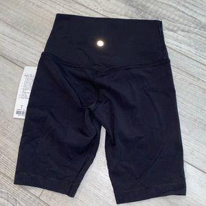 """lululemon athletica Shorts - LULULEMON ALIGN BIKE SHORTS 8"""" BLACK BNWT"""